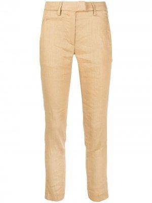 Укороченные брюки Dondup. Цвет: нейтральные цвета