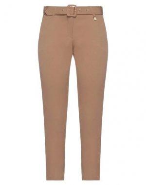 Повседневные брюки FLY GIRL. Цвет: верблюжий