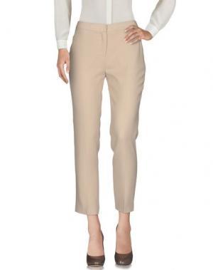 Повседневные брюки ANGEL SCHLESSER. Цвет: бежевый