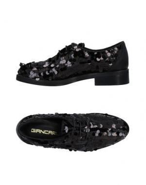 Обувь на шнурках GIANCARLO PAOLI. Цвет: черный