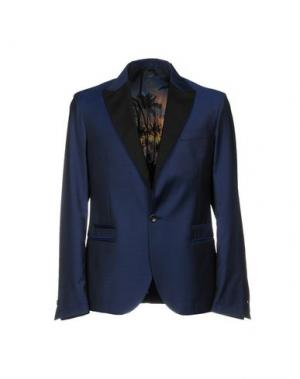Пиджак LOW BRAND. Цвет: синий