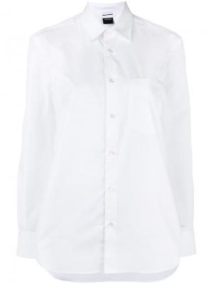 Button up shirt Aspesi. Цвет: белый