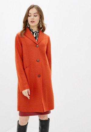 Пальто Madeleine. Цвет: оранжевый