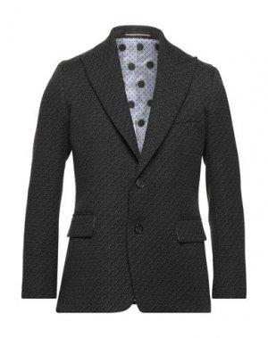 Пиджак MAESTRAMI. Цвет: стальной серый
