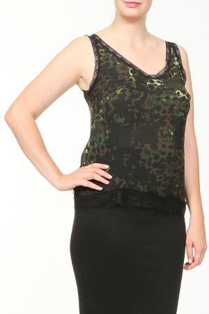 Майка For.Me Elena Miro. Цвет: черный, зеленый, коричневый
