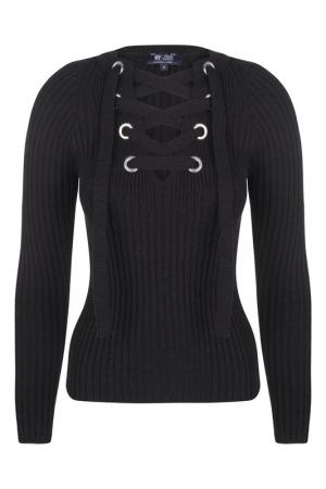 Пуловер FELIX HARDY. Цвет: черный