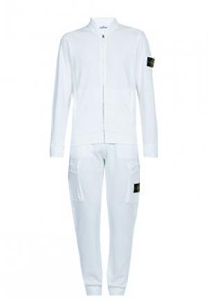 Спортивный костюм STONE ISLAND. Цвет: белый