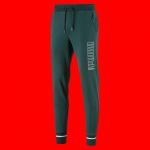 Штаны Athletics Pants PUMA. Цвет: зеленый