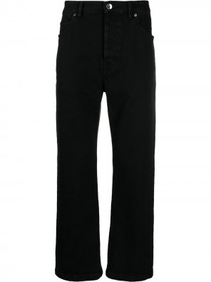 Зауженные джинсы кроя слим Opening Ceremony. Цвет: черный