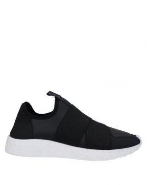 Кеды и кроссовки FESSURA. Цвет: черный