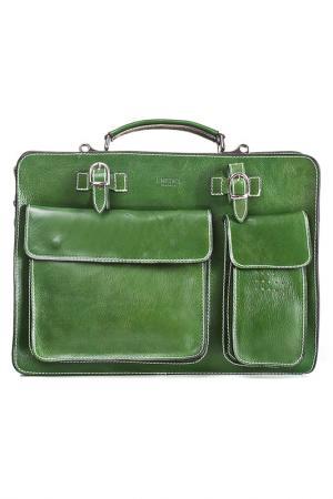 Briefcase MEDICI OF FLORENCE. Цвет: green