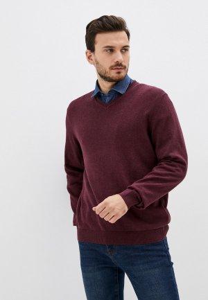 Пуловер Henderson. Цвет: бордовый