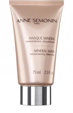 Глубоко очищающая и увлажняющая маска с минералами Anne Semonin. Цвет: бесцветный