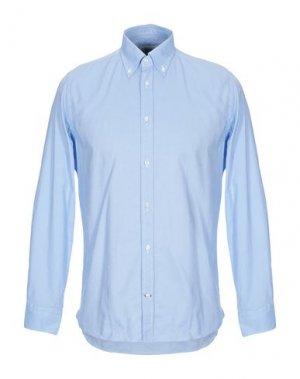 Pубашка BRANCACCIO. Цвет: небесно-голубой