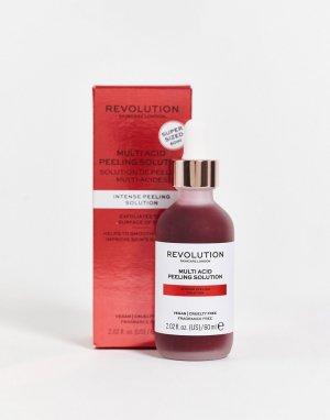 Средство для пилинга кожи Multi Acid Peeling Solution 60 мл СКИДКА 20%-Бесцветный Revolution
