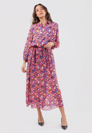 Платье InWear. Цвет: разноцветный