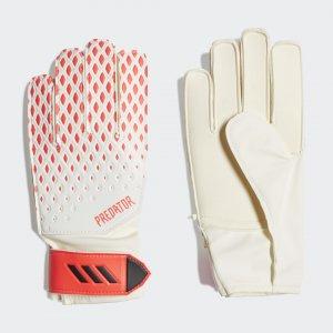 Вратарские перчатки Predator 20 Training Performance adidas. Цвет: белый