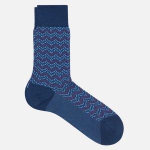 Носки Colour Waves Falke. Цвет: синий