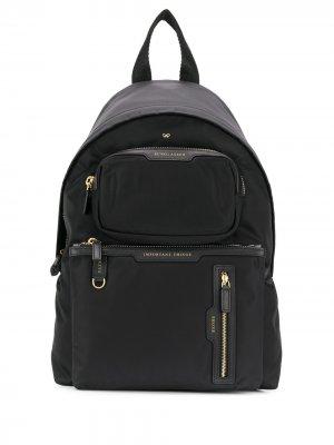 Рюкзак с карманами Anya Hindmarch. Цвет: черный