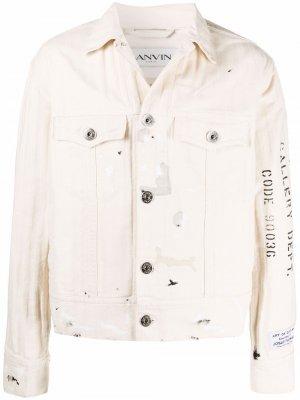 Куртка из коллаборации с Gallery Department LANVIN. Цвет: нейтральные цвета