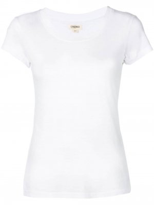 LAgence классическая футболка L'Agence. Цвет: белый