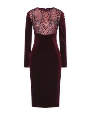 Платье до колена ISABEL GARCIA. Цвет: красно-коричневый