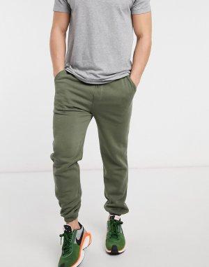 Зеленые джоггеры с манжетами Core-Зеленый цвет Jack & Jones