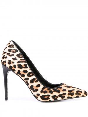 Туфли-лодочки Creda с леопардовым принтом Alice+Olivia. Цвет: разноцветный