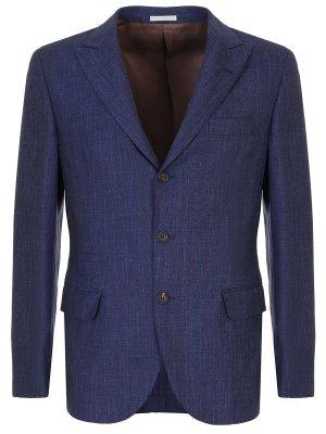 Однобортный пиджак BRUNELLO CUCINELLI