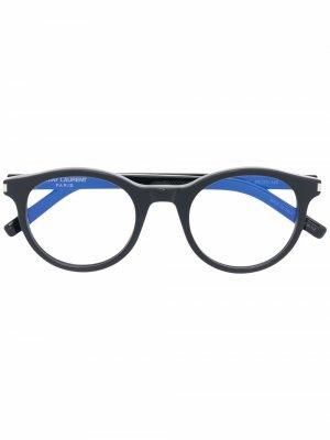 Очки SL 342 Saint Laurent Eyewear. Цвет: черный