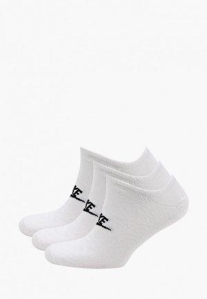 Носки 3 пары Nike U NK NSW EVERYDAY ESSENTIAL NS. Цвет: белый