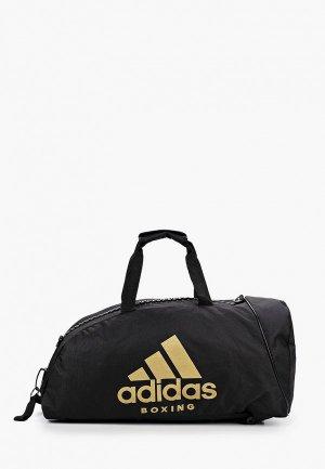 Сумка спортивная adidas Combat Camo Bag BOXING. Цвет: черный