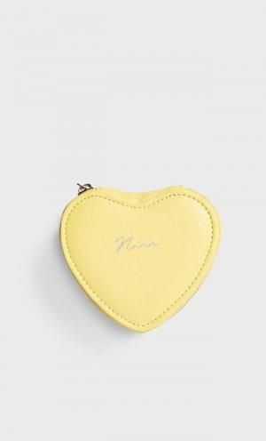 Шкатулка Для Украшений «Сердце» Женская Коллекция Желтый 103 Stradivarius. Цвет: желтый