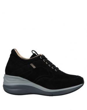 Низкие кеды и кроссовки CESARE PACIOTTI 4US. Цвет: черный