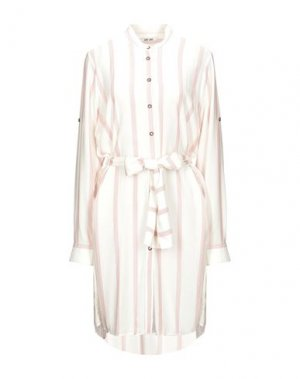 Платье до колена DRY LAKE.. Цвет: белый