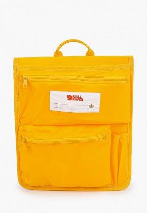 Органайзер для сумки Fjällräven Kånken. Цвет: желтый
