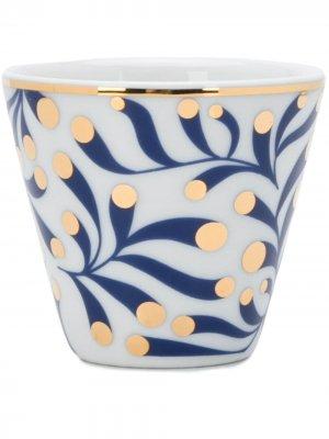 Чашка Marina Bitossi Home. Цвет: белый