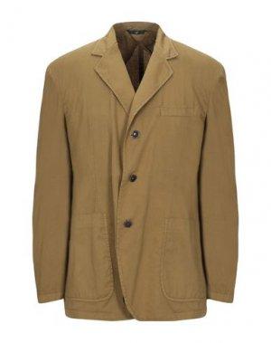 Пиджак HEVÒ. Цвет: зеленый-милитари