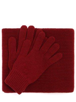 Комплект перчатки и шарф JOHNSTONS