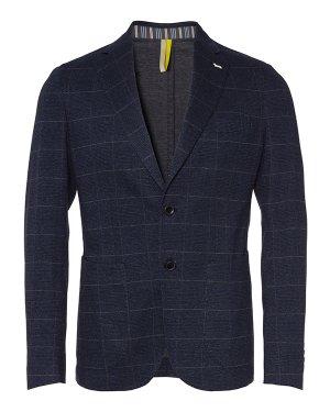 Пиджак VPF070 48 тем.синий+принт Harmont & Blaine. Цвет: тем.синий+принт