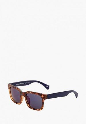 Очки солнцезащитные MR. Цвет: коричневый
