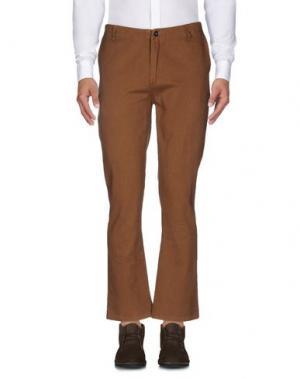 Повседневные брюки INDEPENDENT. Цвет: коричневый