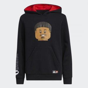 Худи Damian Lillard x LEGO® adidas. Цвет: черный