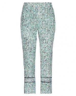 Повседневные брюки LALA BERLIN. Цвет: зеленый