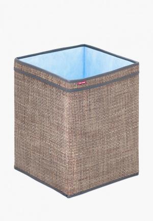 Корзина для хранения Casy Home. Цвет: коричневый