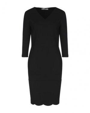 Платье до колена D.EXTERIOR. Цвет: черный