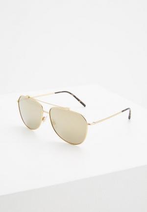 Очки солнцезащитные Dolce&Gabbana DG2190 02/5A. Цвет: золотой