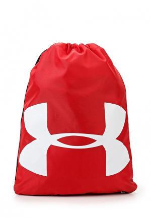 Мешок Under Armour UA Ozsee Sackpack. Цвет: красный