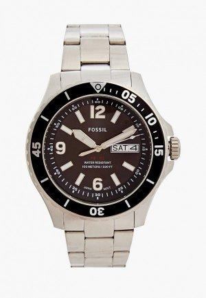 Часы Fossil FS5687. Цвет: серебряный