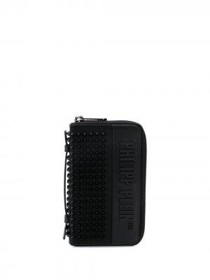 Декорированный кошелек Philipp Plein. Цвет: черный